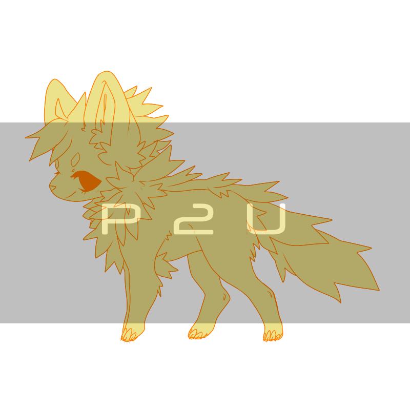 [P2U] Chibi Doggo base by Nishipu