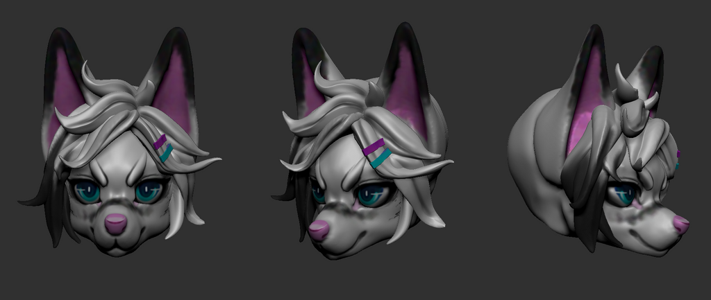 aaaaa I did a thing in ZBrush by Nishipu
