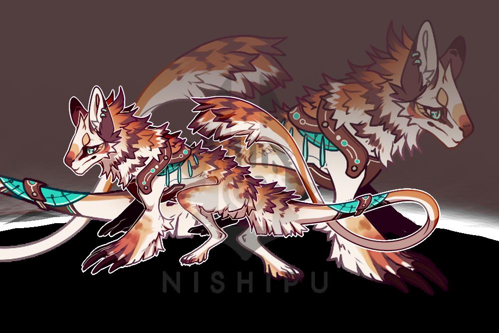 Creature adopt - Closed by Nishipu