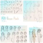 P2U Chibi Humanoid Base pack
