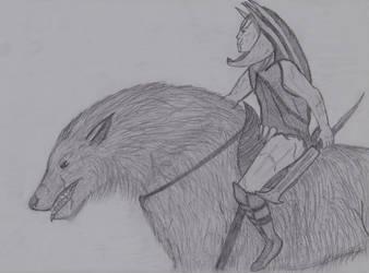Wargrider Sketch by Naturgeist93
