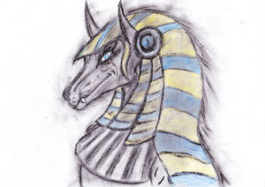 Anubis present for Kel