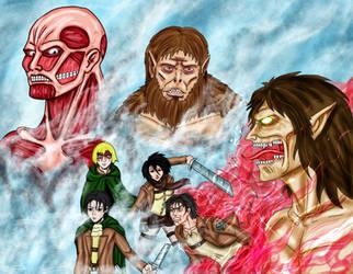 Attack on Titan Collab by Naturgeist93