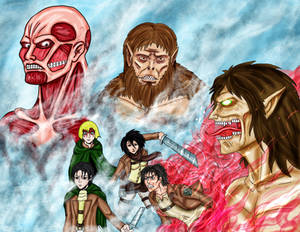 Attack on Titan Collab