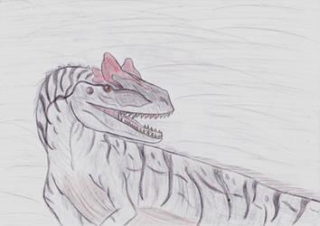 Allosaurus (Gift for Azure) by Naturgeist93