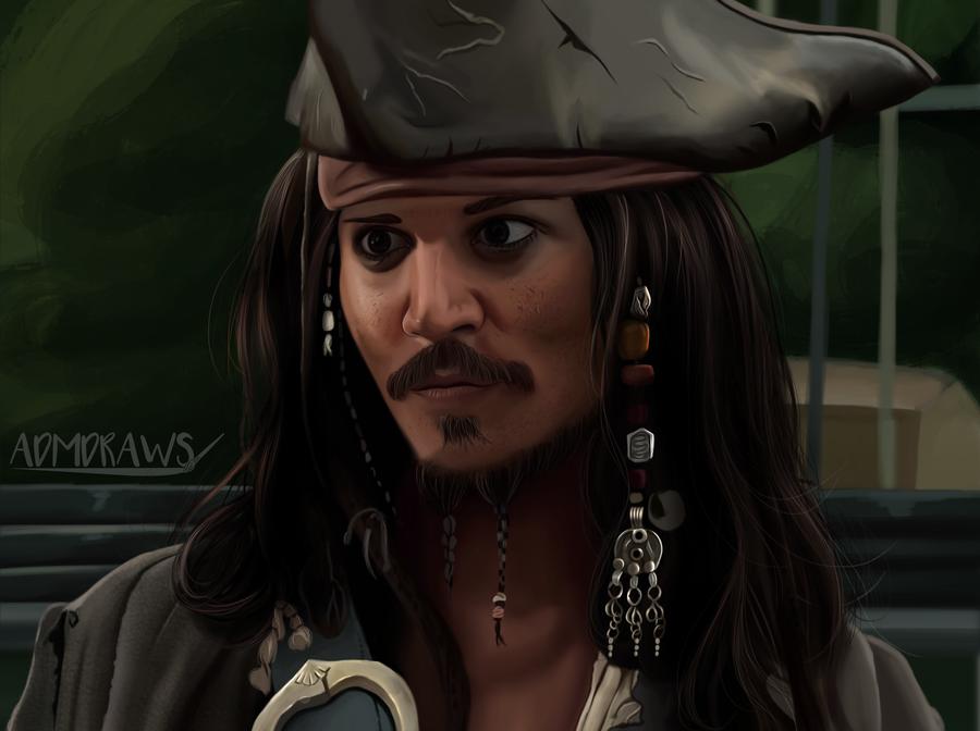 Jack Sparrow by admdraws