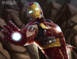 Iron Man by admdraws