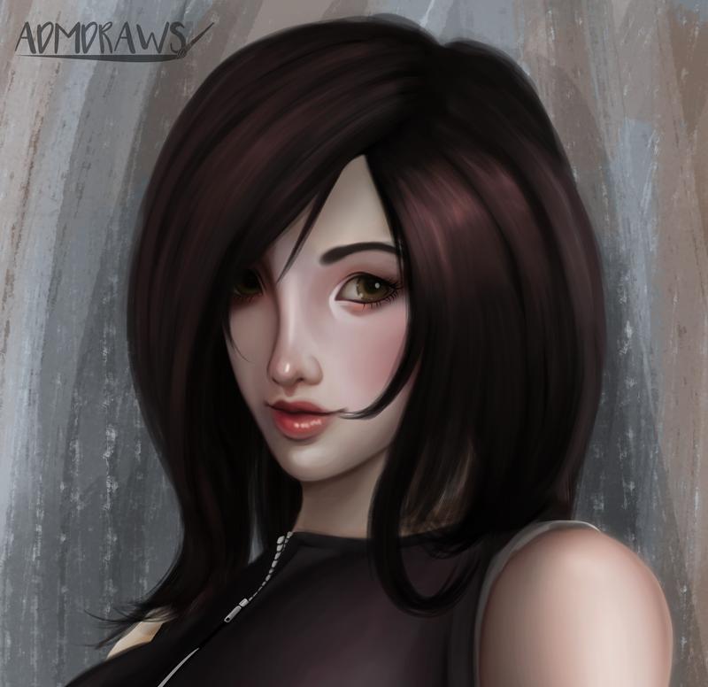 Tifa by admdraws