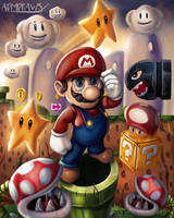 Super Mario by admdraws