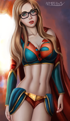 Supergirl by admdraws