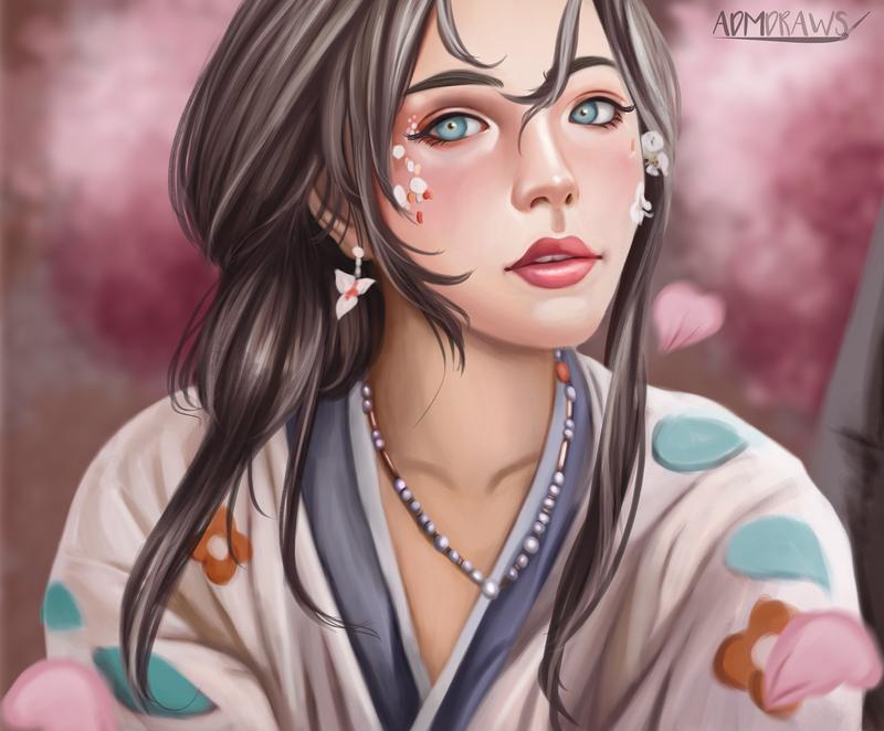 Oriental by admdraws