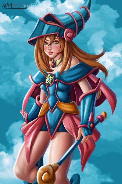 Dark Magician Girl by admdraws