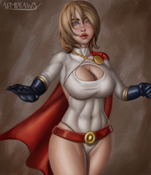 Power Girl by admdraws