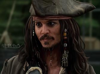 Captain Jack Sparrow by admdraws