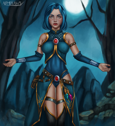 Commission - Talia by admdraws