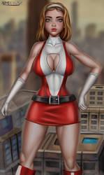 Elasti-Woman by admdraws