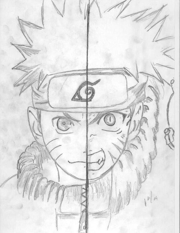 Naruto Uzumaki Nine Tailed Fox Drawing Image Gallery HCPR