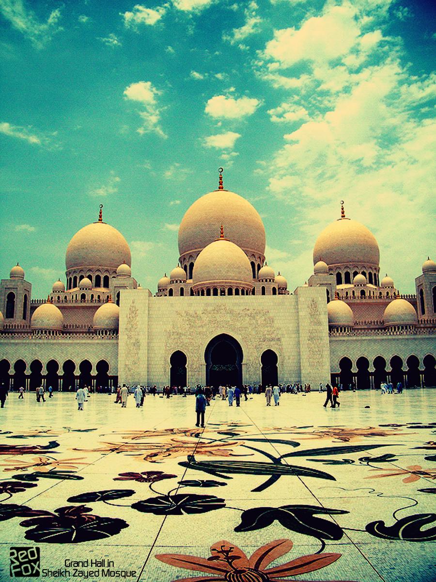 Exterior: Sheikh Zayed Mosque By RedFoxSin On DeviantArt