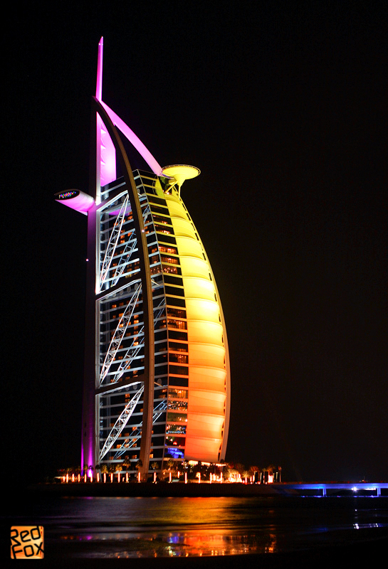 Arab tower hotel in dubai by redfoxsin on deviantart for Art hotel dubai