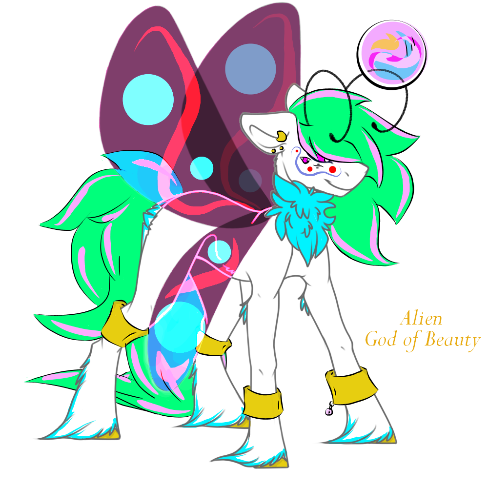 Alien God of Beauty Auction CLOSED by Darumemay