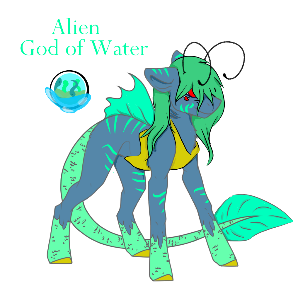 Alien God of Water Auction CLOSED by Darumemay