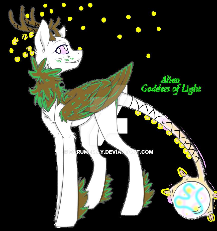 Update Alien Goddess of Light Auction by Darumemay