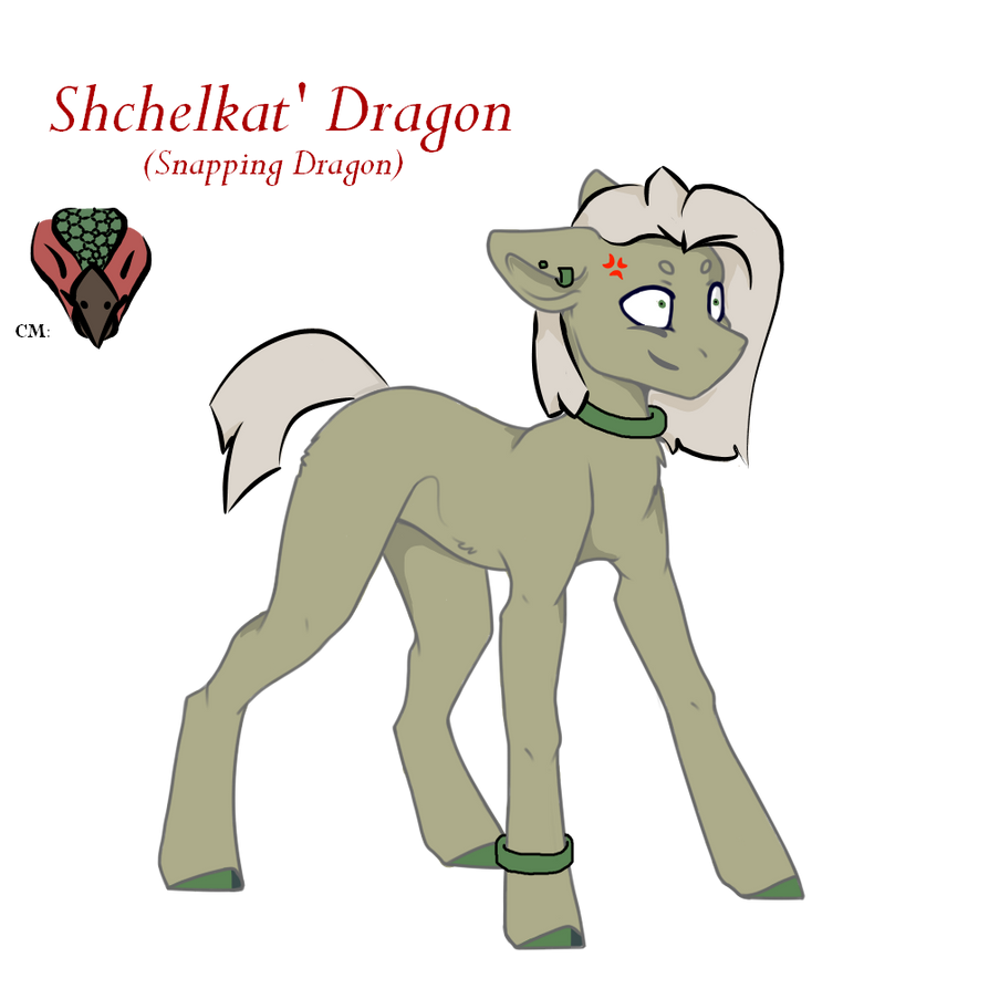 Shchelkat Dragon new oc  by Darumemay