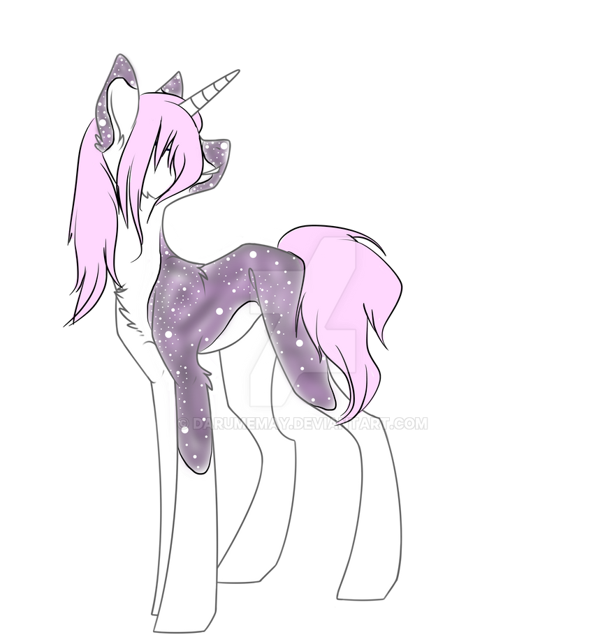 Galactic unicorn adopt Closed by Darumemay