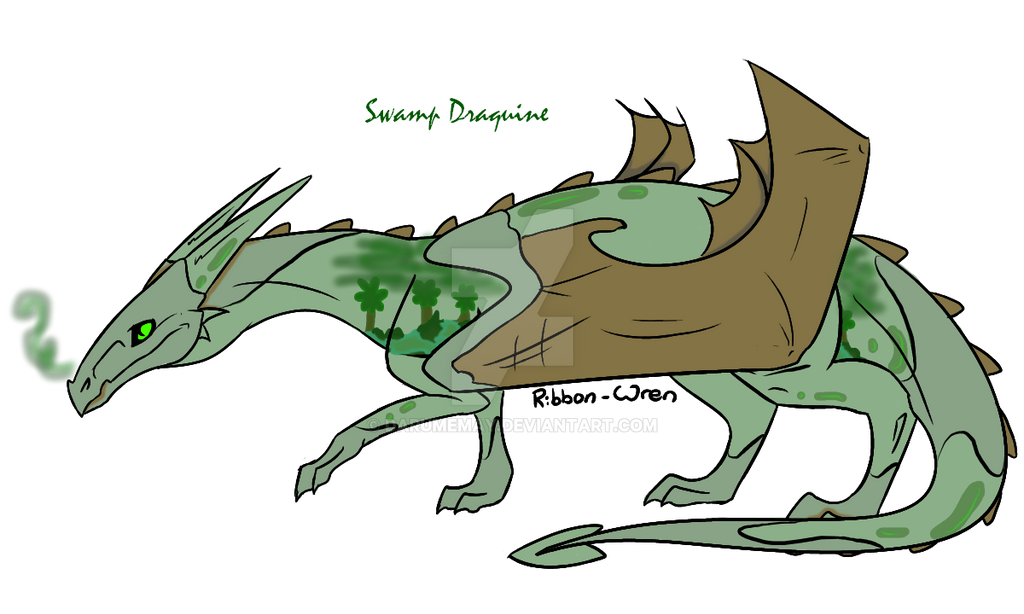 OTA Swamp Draquine by Darumemay