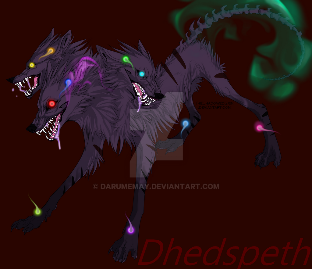 Dhedspeth the Cerberus by Darumemay