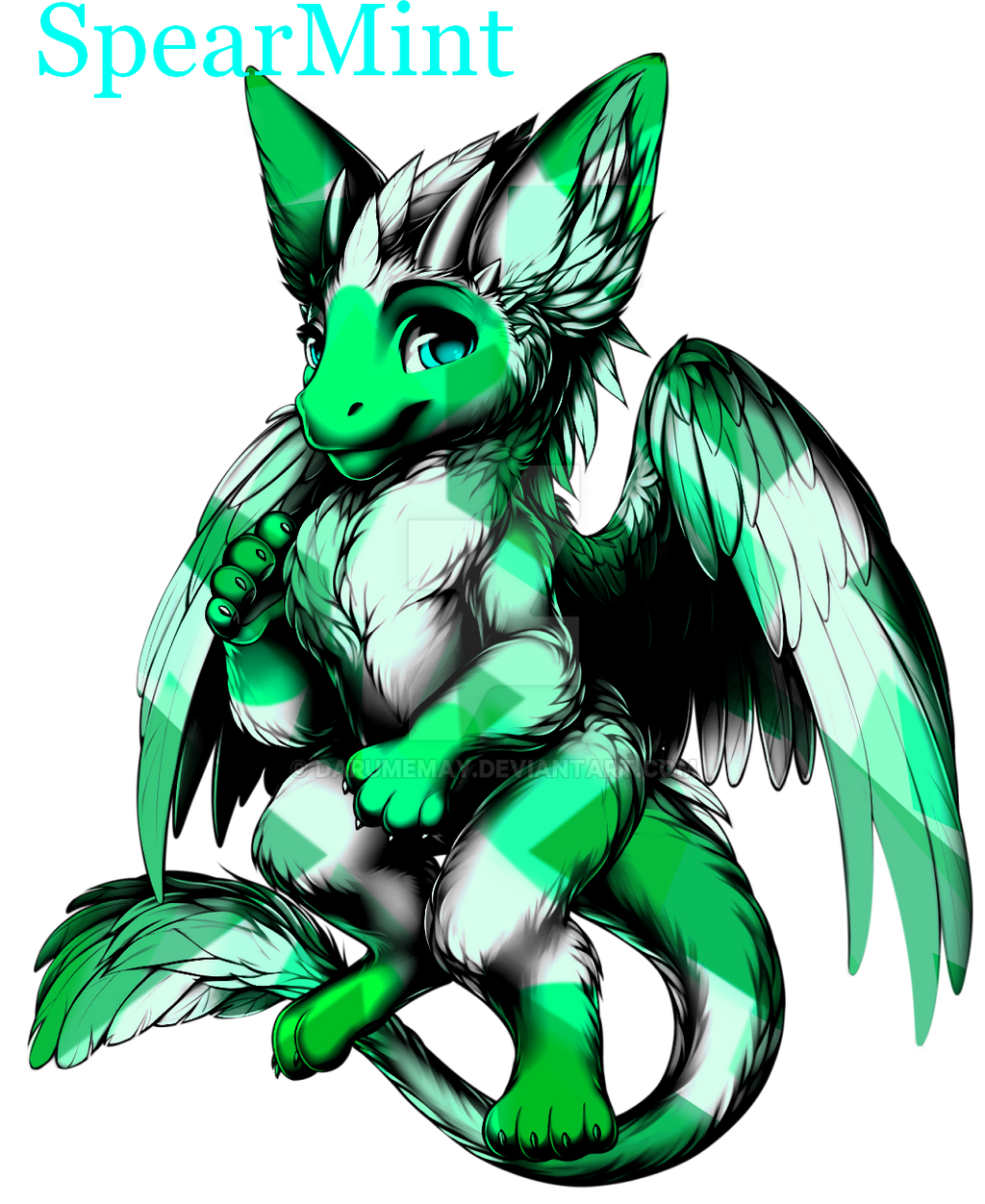 SpearMint for trade CLOSED by Darumemay