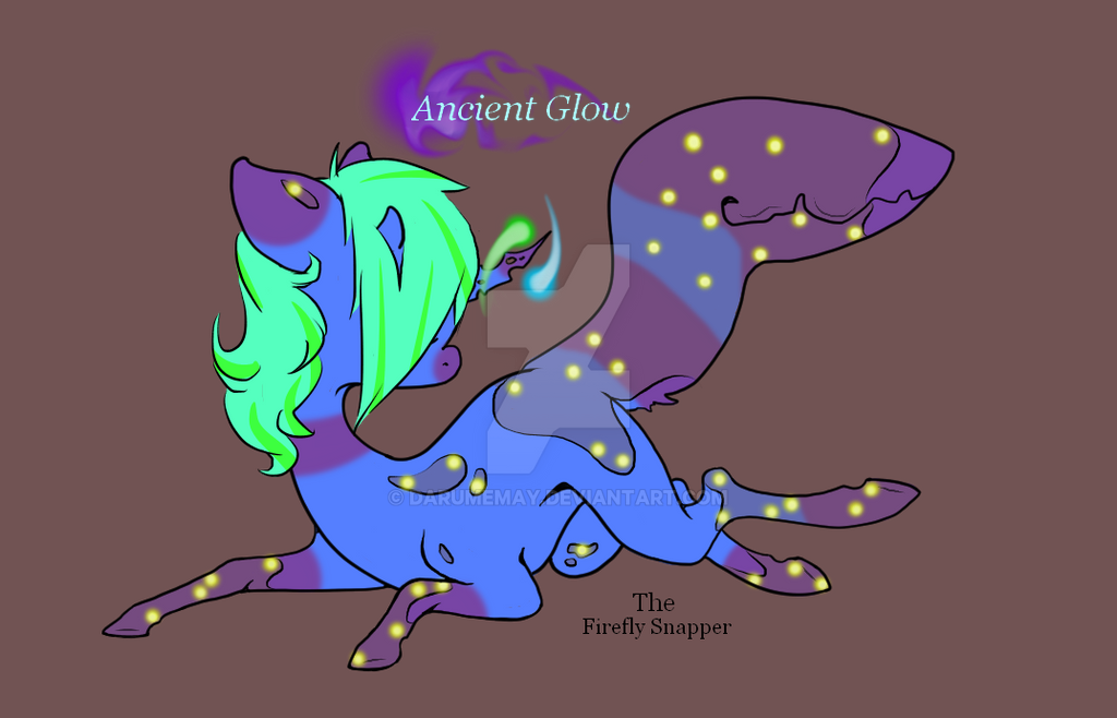 Ancient Glow the Firefly Snapper  by Darumemay