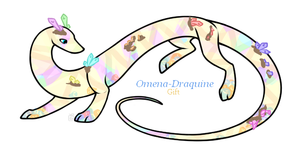 Omena-Draquine thank you gift by Darumemay