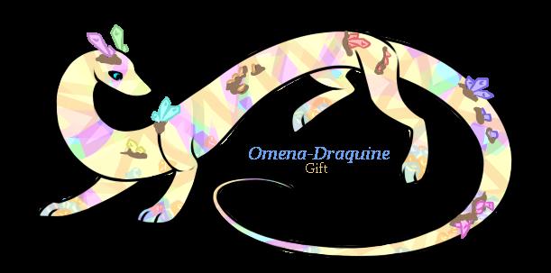 Omena-Draquine thank you gift by Darumemay