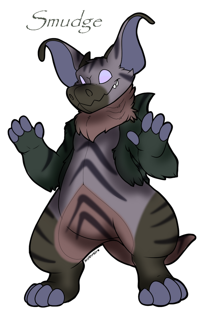 Smudge the Leathersaur by Darumemay
