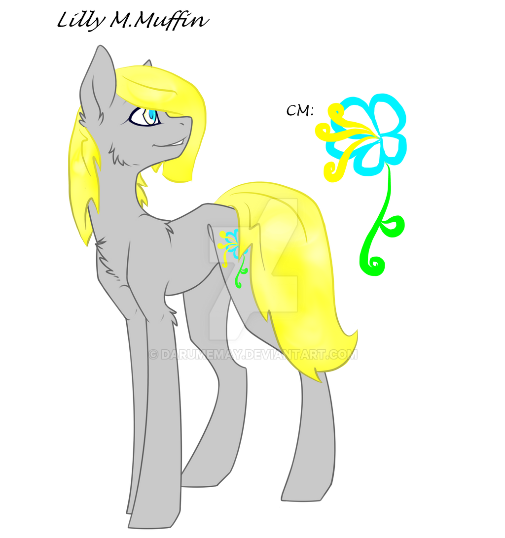 Lilly M. Muffin grown up  by Darumemay