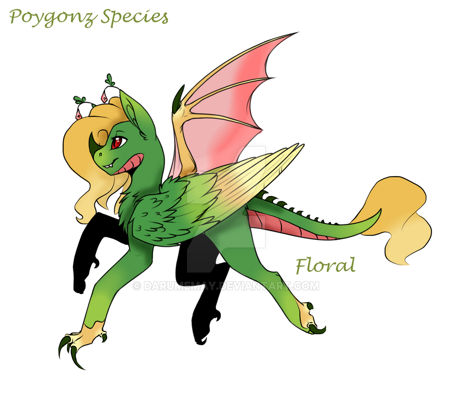 Poygonz species Redo complete by Darumemay