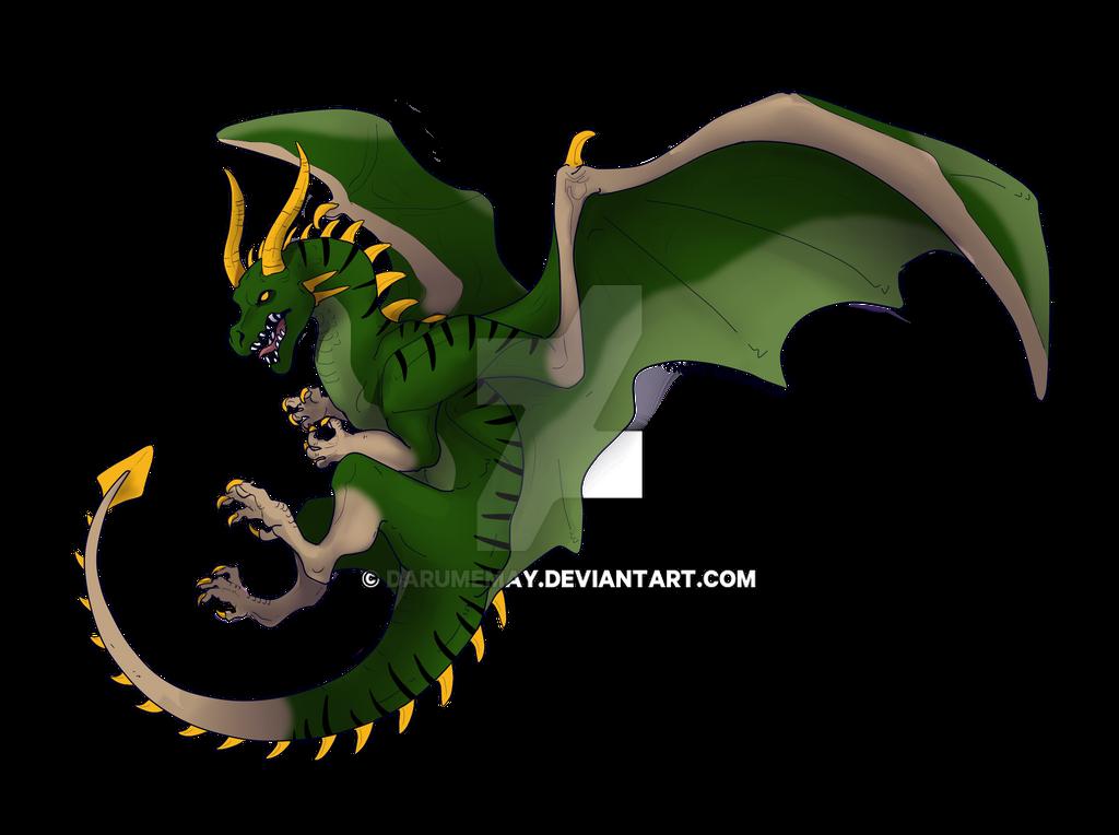 Dragon adopt by Darumemay