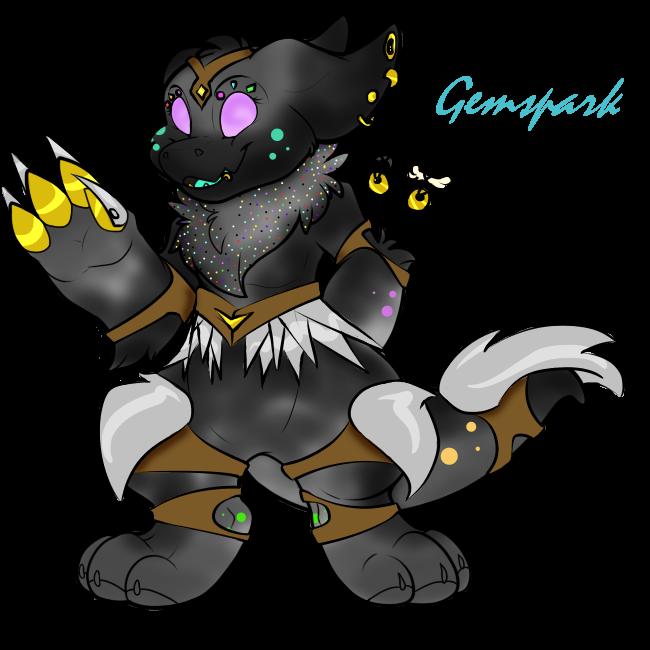 Gemspark the Armored Bandit Wickerbeast by Darumemay
