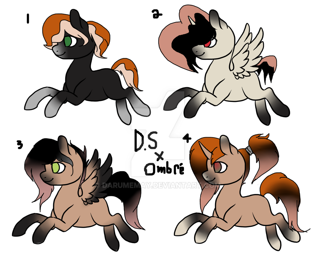More Breed adopts 3/4 OPEN by Darumemay