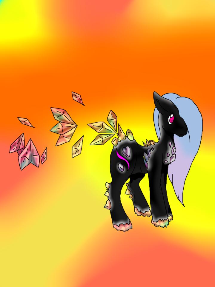 Crystal pony by Darumemay