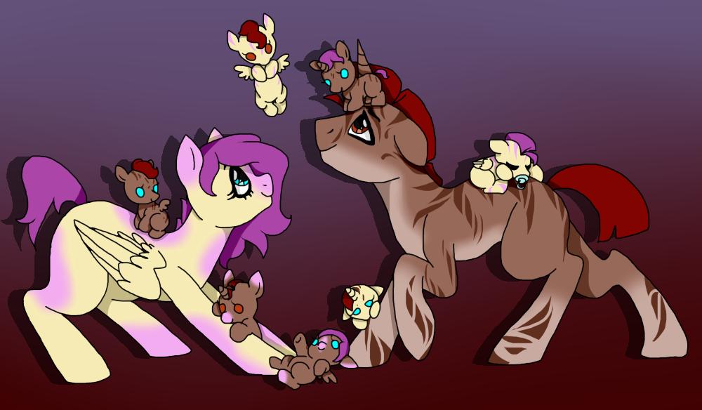 New random family by Darumemay