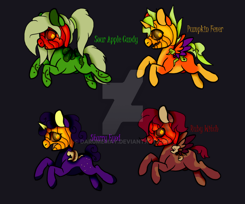 Pumpkin Patch Fillies Adopts 3/4 OPEN by Darumemay