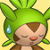 Pmd Chespin icon (sorry/tired)