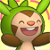 Pmd Chespin icon (Blissful) by Charly-sparks