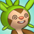 Pmd Chespin icon (dizzy) by Charly-sparks