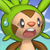 Pmd Chespin icon (shocked) by Charly-sparks