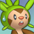 Pmd Chespin icon (suprised)