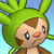 Pmd Chespin icon (Confused) by Charly-sparks