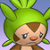 Pmd Chespin icon (sad) by Charly-sparks